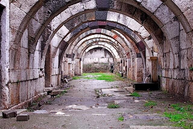 Roman Agora Izmir Turkey
