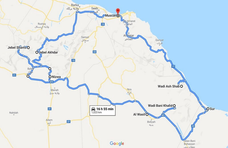 Wild Camping Across Oman A 7 Day 4WD Itinerary (Self Drive Without a Guide)
