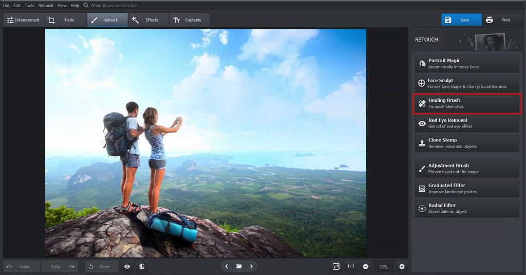 Removing Shadows from Photos with PhotoWorks