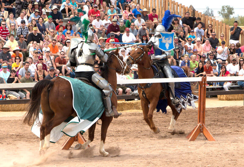 Arizona Renaissance Festival Jousting