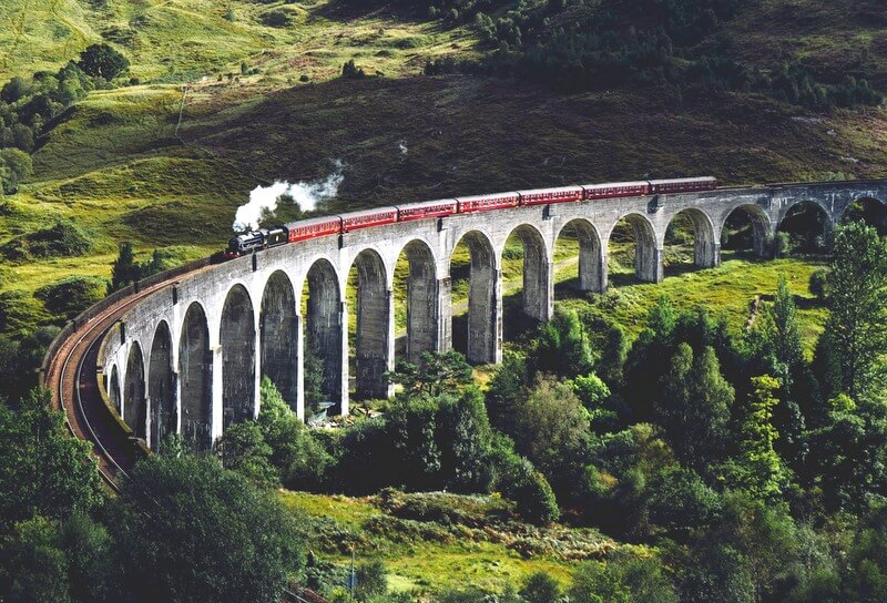 Scotland train RF