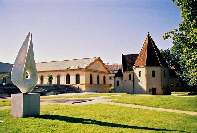 Templiers Chapel Metz