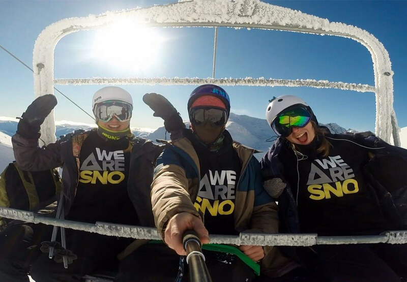 Skiing WEARESNO