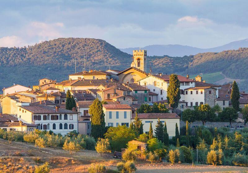 Chianti wine region Italy RF