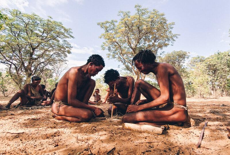 Namibia Indigenous Tribe