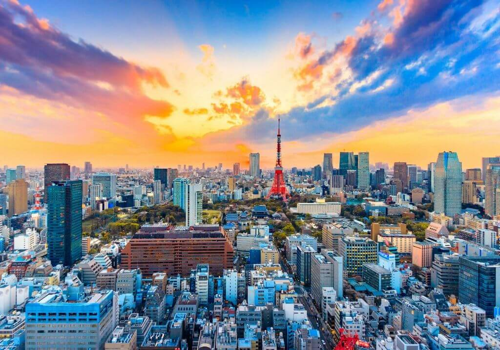Tokyo Japan RF