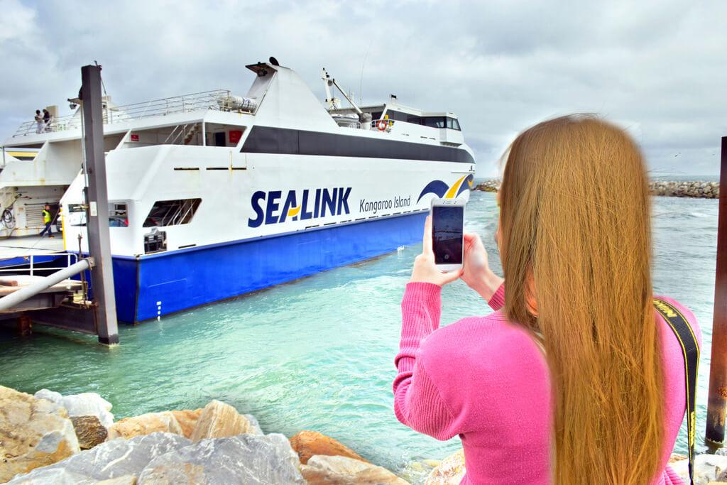 Sea Link Ferry to Kangaroo Island