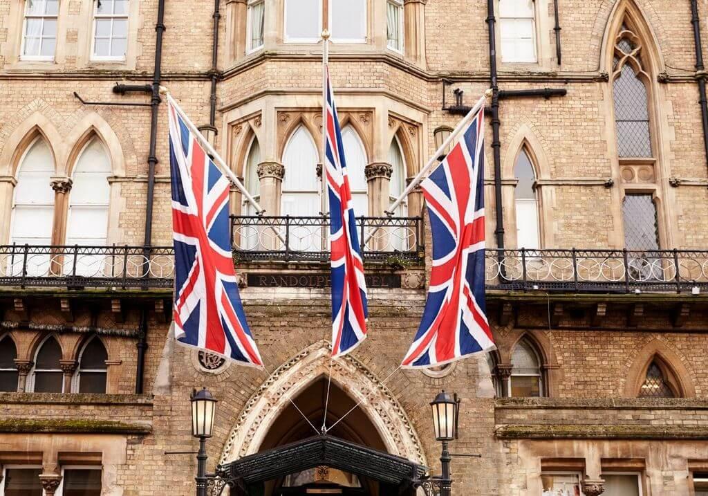 UK flag RF