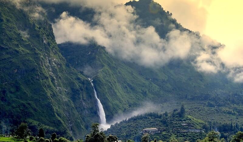 Birthi Falls India Uttarakhand
