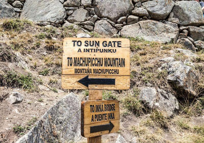 Sun Gate Machu Picchu Peru RF