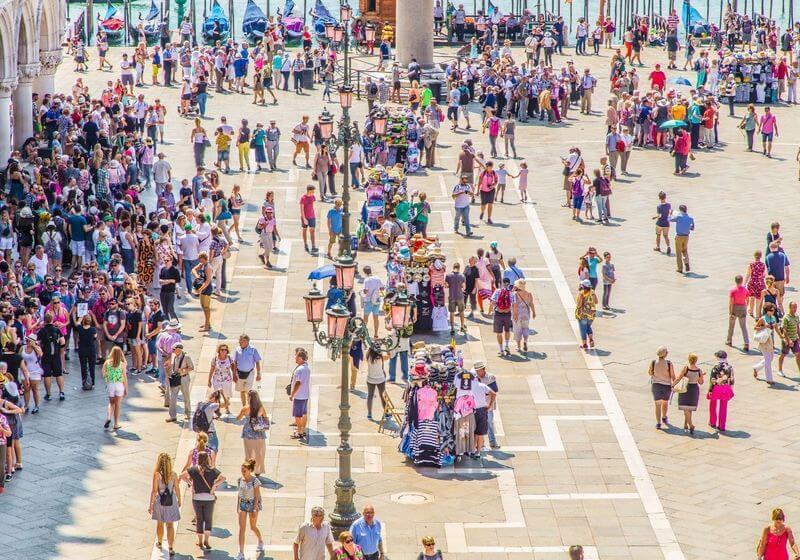 Venice Crowds people RF
