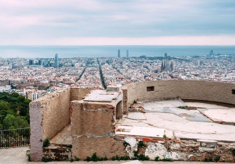 Bunkers of Carmel Barcelona Spain RF