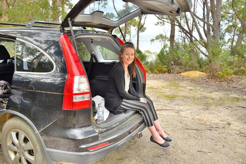 Meg Jerrard Car Tasmania