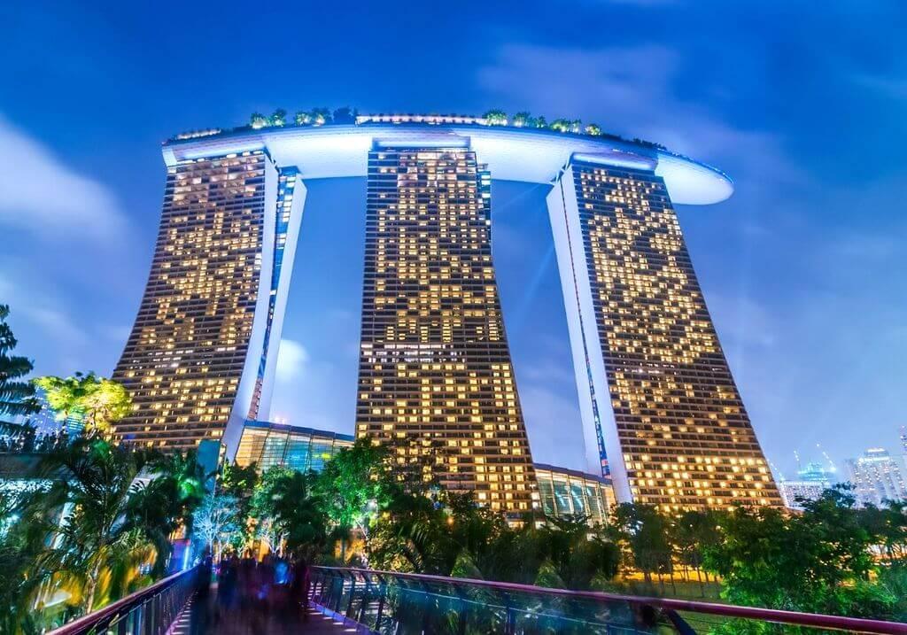 Marina Bay Sands Hotel Singapore RF