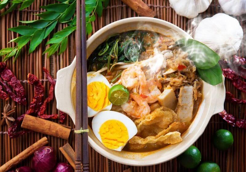 Singapore food RF