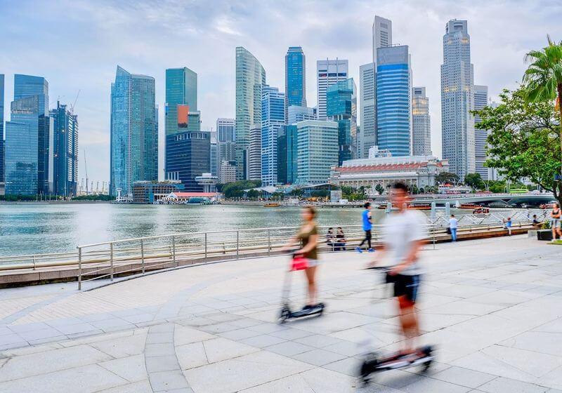 Singapore transport RF