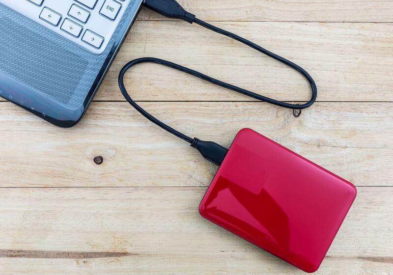 Computer laptop harddrive backup RF