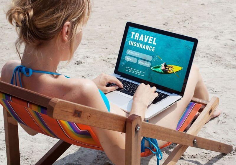 Travel insurance beach RF
