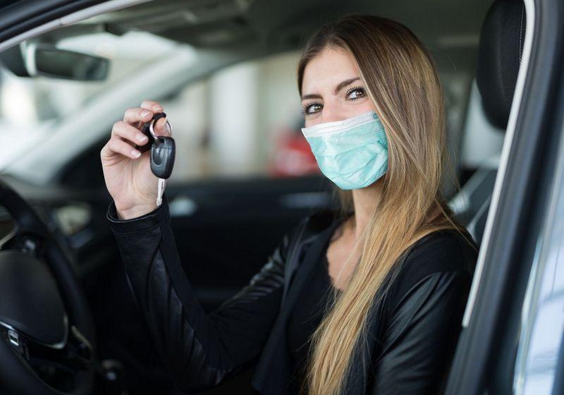 Car roadtrip mask key RF