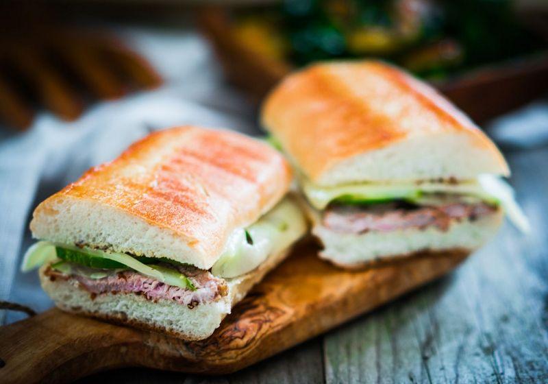 Cuban sandwiches food RF