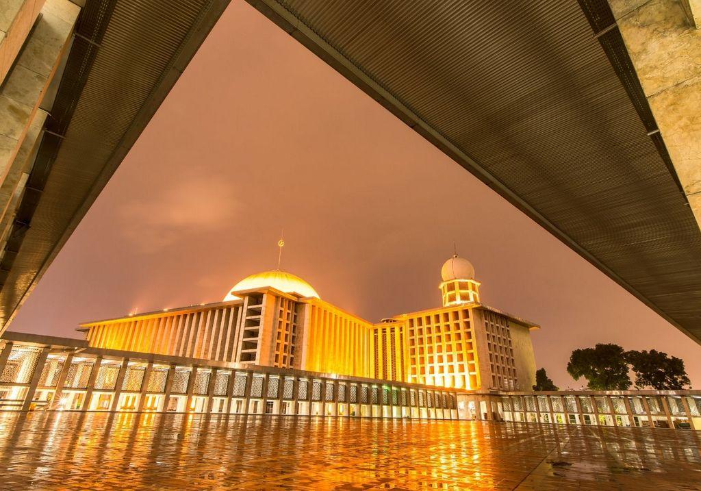 Istiqlal Mosque Jakarta Indonesia RF