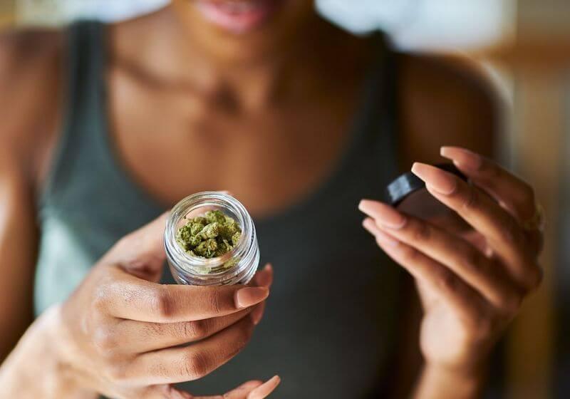 Legal cannabis marijuana RF