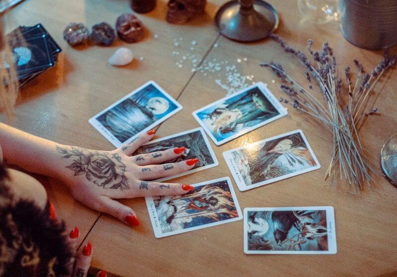 Psychic tarot cards RF