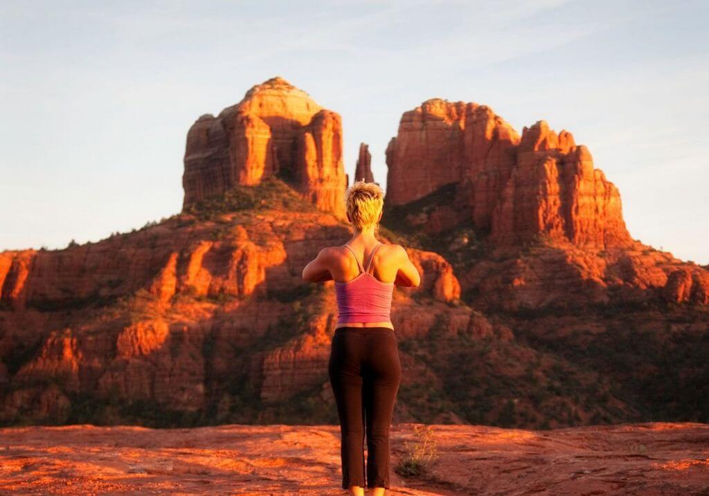 yoga rocks sedona USA