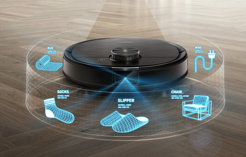 Ecovacs Deebot T8 Robot Vacuum and Mop Cleaner