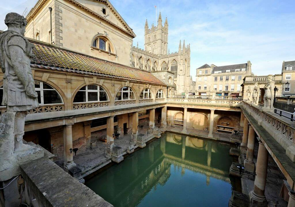 Roman Bath Somerset UK