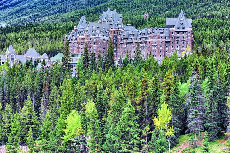 Fairmont Banff Springs Canada Hotel
