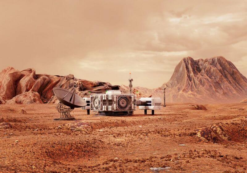 Mars space planet travel RF