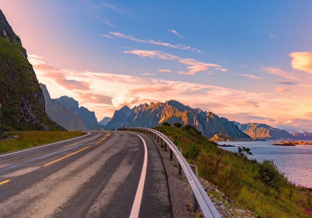 Norway road RF