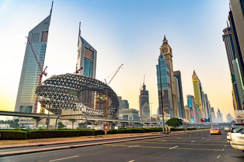 Dubai roads RF