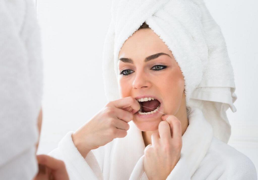 Floss teeth RF