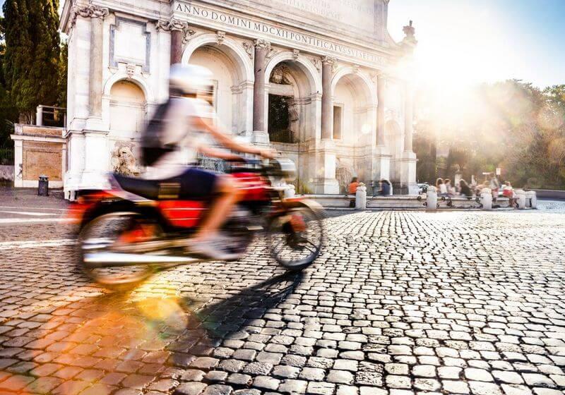 Motorcycle bike Italy Rome RF