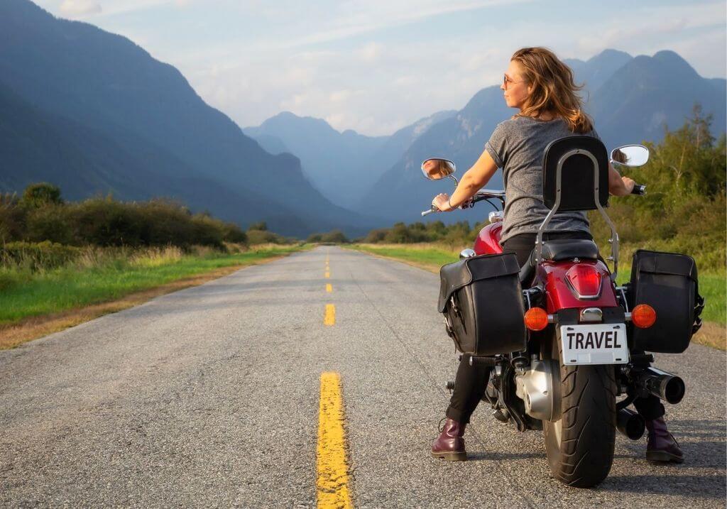 Motorcycle bike road trip rider RF