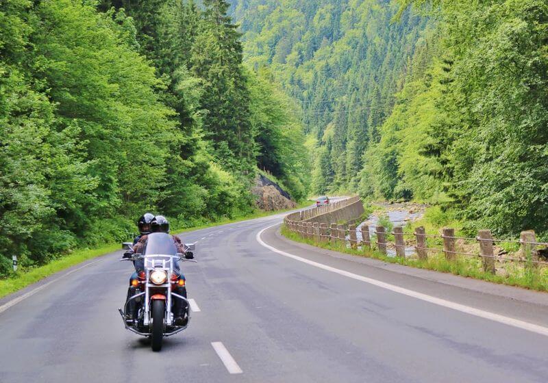 Motorcycle roadtrip ride RF