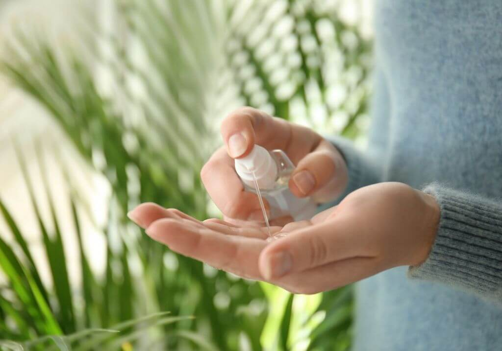 Sanitizer wash hands RF