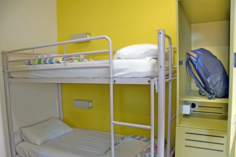 Sydney Harbour YHA Dormroom