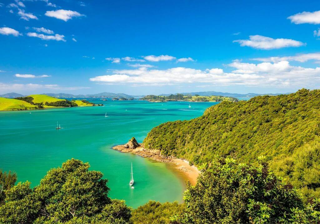 Bay of Islands New Zealand RF