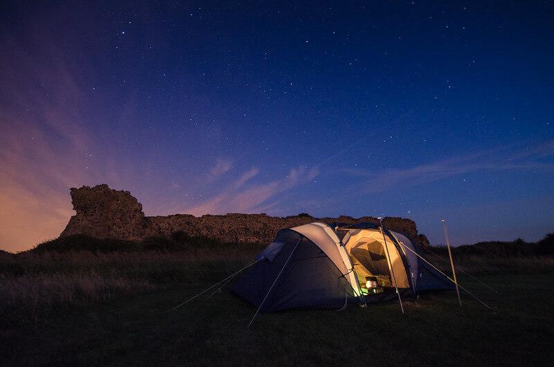 Piel Island Camping England