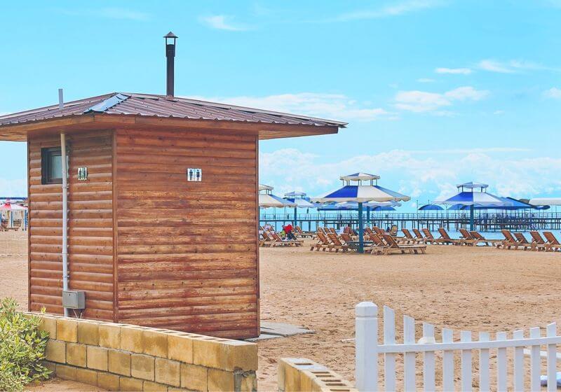 Beach toilet RF