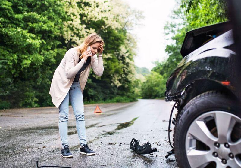 Car accident roadtrip RF