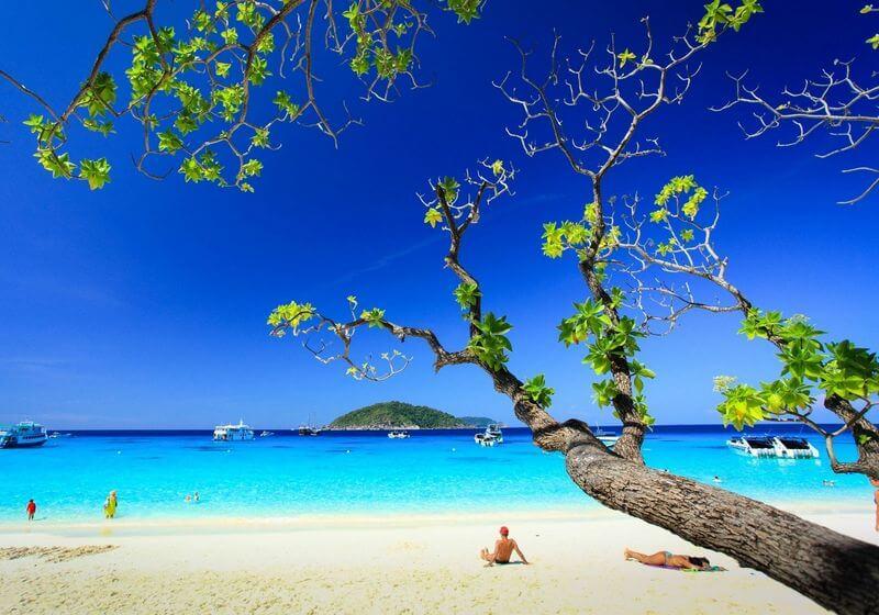 Similan Islands Thailand beach rf