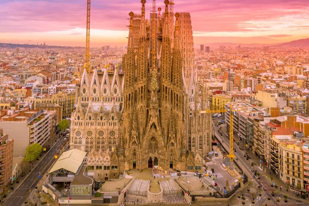Barcelona sunset RF