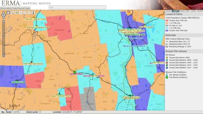 Wilton Map