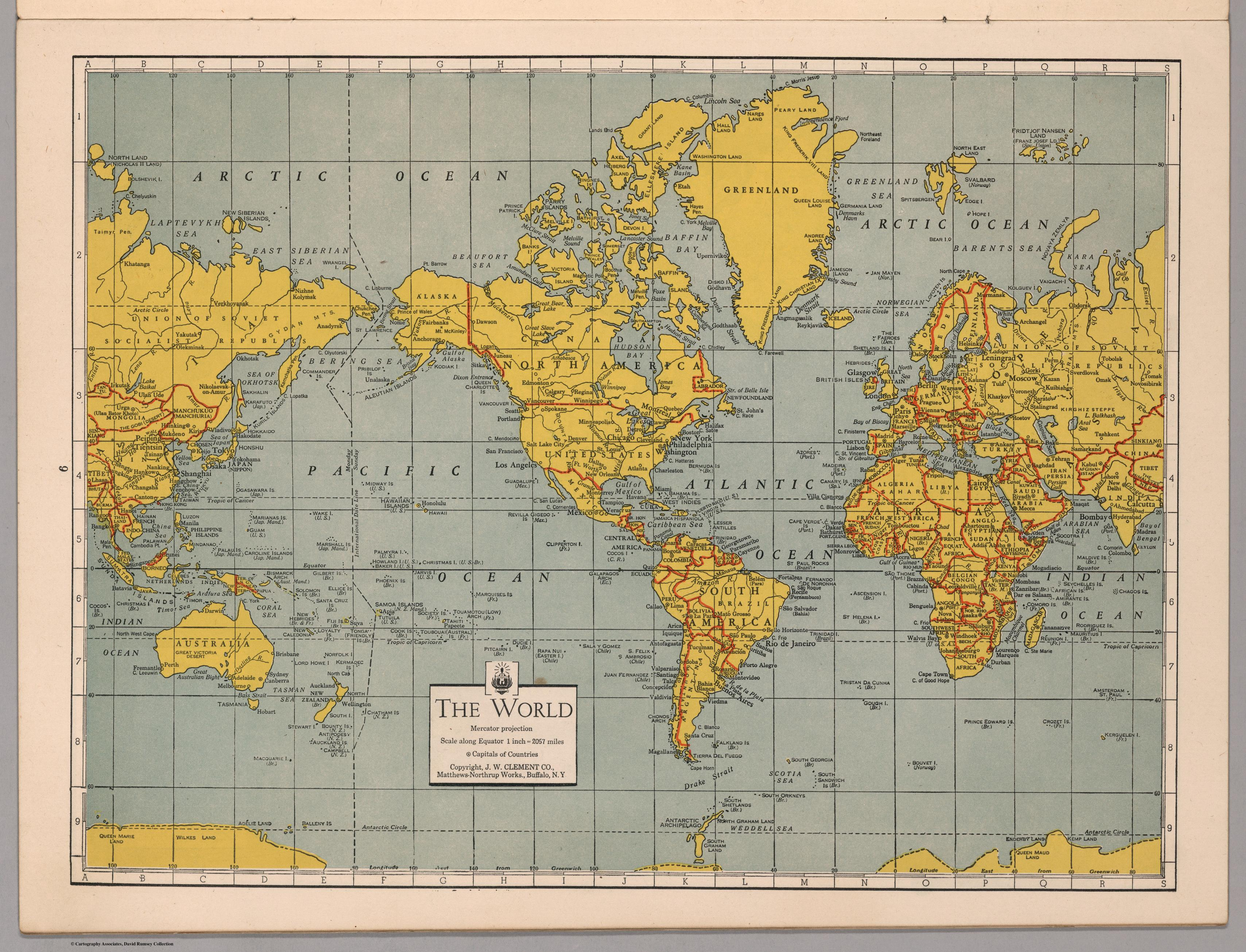 How An Artist Reinvented The Map In Wwii Mapping The