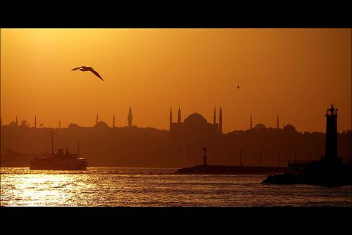 view of hagia sofia istanbul