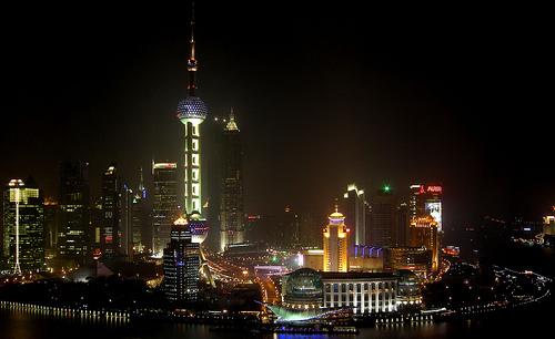Shanghai - Pudong at night